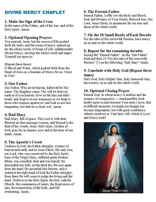 how-to-pray-the-divine-mercy